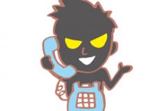 """毎日、迷惑な電話営業が来ます""""(-""""""""-)"""""""
